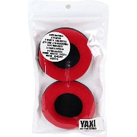 YAXI Fix80mm CPAD-80RED レッド 交換用べロアイヤーパッド