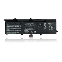 ノートパソコンのバッテリー Laptop Battery for ASUS C21-X202, ASUS VivoBook X201E X202E S200 S200E S200E-CT209H...
