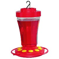 First Nature FN3090 32 oz. Hummingbird Flower Feeder