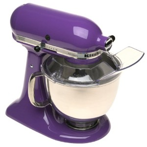 KitchenAid KSM150PSGP Artisan Series 5-Qt. Stand Mixer with Pouring Shield - Grape by KitchenAid
