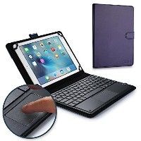 Sony Xperia Tablet Z キーボード ケース COOPER TOUCHPAD EXECUTIVE 2-in-1 ワイヤレス Bluetooth キーボード マウス レザー トラベル...