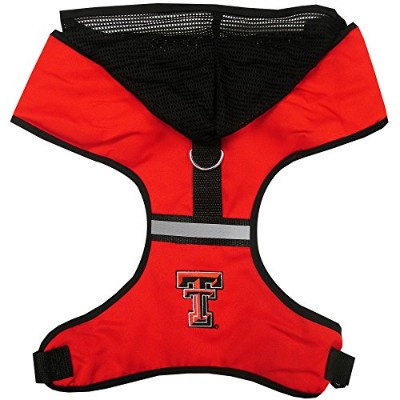 Texas Tech Pet Harness SM