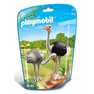 PLAYMOBIL (プレイモービル) Ostriches with Nest Building Kit(並行輸入品)