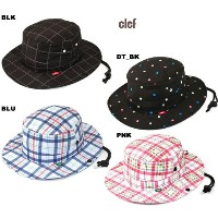 CLEF(クレ)ビーチハット/D_HEAD GUID HAT/DT_BK