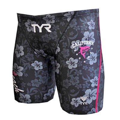 TYR(ティア) 【TYR LOGO】MENS LONG BOXER JLOGO-17S ブラック M