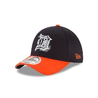 MLB Detroit Tigers State Heathered Neo 39thirty Stretch Fitキャップ ブルー