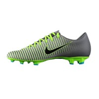 Nike Mercurial Victory VI FIRM GROUND (PURE PLATINUM/BLACK)/サッカーシューズ マーキュリアル ビクトリー VI FG (10.5 - 28...