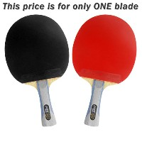 DHS 6002 Table Tennis Ping Pong Racket with AパドルバッグLong Shakehand FL