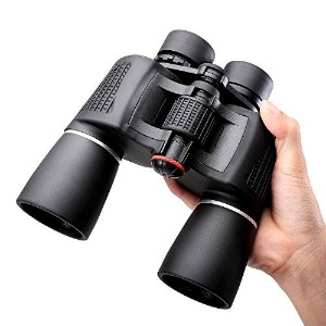 nocoex 10 x 50スーパーhigh-powered Porroプリズム双眼鏡 – For Bird Watching and Hunting – ブラックカラー