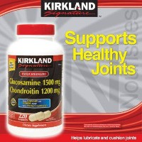 Kirkland Signature Extra Strength Glucosamine 1500mg/Chondroitin 1200mg Sulfate - 220 tablets by...