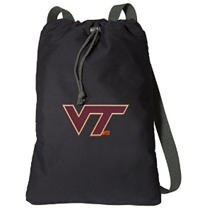 Virginia Tech Hokies DrawstringバックパックリッチキャンバスVirginia Tech Cinch Bag