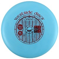 Westside Discs BT Medium ShieldパターGolf Disc [ Colors May Vary ]