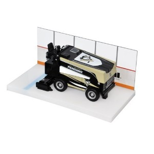 NHL Pittsburgh Penguins 1:25 Scale Series 3 Die Cast Zamboni Replica, Medium, Black [並行輸入品]