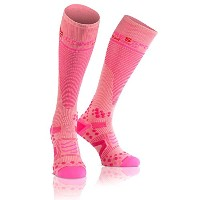 Compressport V2.1 Chaussettes Rose FR : M (Taille Fabricant : 2L)