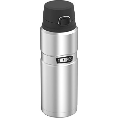 Thermos Stainless King 24 Ounce Drink Bottle, Stainless Steel [並行輸入品]