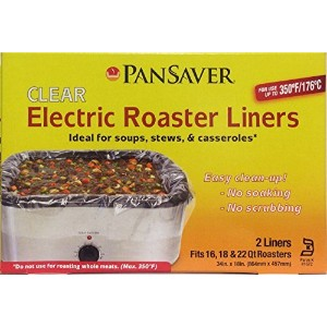 PanSaver Electric Roasterライナー。Fits 16、18、22 Quart Roasters