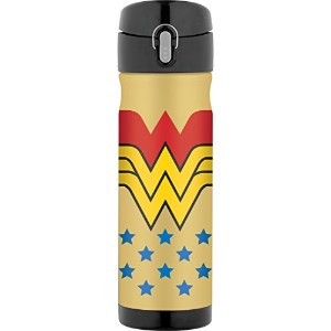 Thermos 473ml stainless-steelバックパックボトル 16 oz JMW5006WW4
