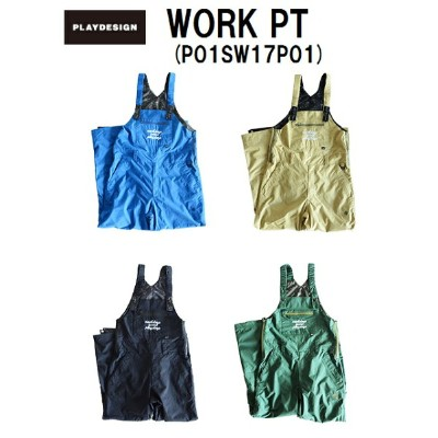 【P01/プレイ】 【送料無料】 《PLAY Tシャツプレゼント》 2017 / 2018 PLAY DESIGN SNOWBOARD WEAR WORK PT PNT PANTS...