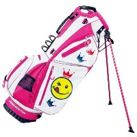 WINWIN STYLE(ウィンウィンスタイル) キャディーバッグ I LOVE GOLF LST I LOVE GOLF LST  CB-825 WH×ROSE
