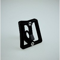 Light weight black CNC front carrier block for Brompton Folding Bike - Dino Kiddo
