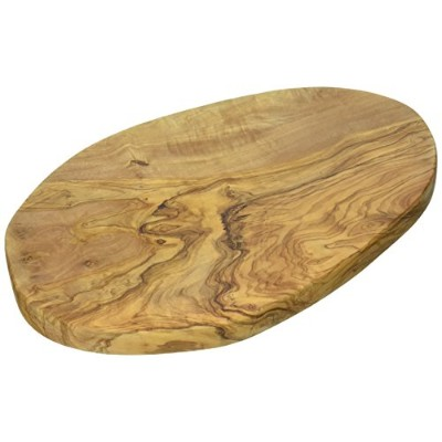 Naturally Med - Olive Wood Chopping / Cutting / Cheese Board - 12 inch by Naturally Med