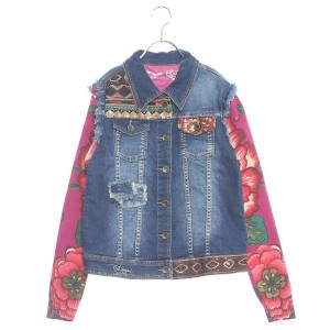 【SALE 30%OFF】デシグアル Desigual CHAQ_SAGUARO (DENIM LIGHT WASH)