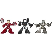 Marvel Iron Man 3スーパーヒーローSquad Expo Air Assault Figures