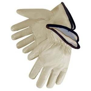 Liberty 6227T Quality Grain Cowhide Leather Driver Glove with Insulated Thermal Lined, Large (Pack...