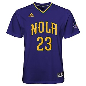 NBA Youth 8 – 20 New Orleans Pelicans DavisレプリカPride Jersey S パープル