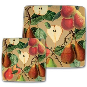 Michel Design Works Luncheon /デザートPaper Plates , Tuscan Pear