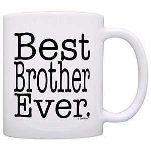 ThisWear 父の日の贈り物「Best Brother Ever」ギフトコーヒーマグ/ティーカップ 11オンス na