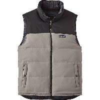 パタゴニア メンズ ベスト トップス Patagonia Men's Reversible Bivy Down Vest Feather Grey