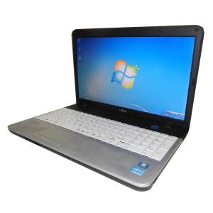 中古ノートパソコン Windows7 富士通 LIFEBOOK A531/DX(FMVXN4KN2Z)Core i3 2330M 2.2GHz/4GB/250GB/DVDマルチWin7Pro...