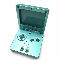 Zhuhaitf ゲーム アクセサリ Full Housing Shell Skins Cover Case Button for GBA SP Gameboy Advance SP