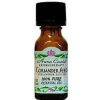 海外直送品Essential Oil Coriander Seed, (coriandrum sativum) 0.5 Fl Oz by Aura Cacia