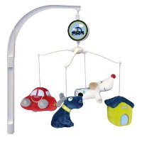 Puppy on the Go Musical Mobile by Just Born