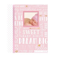 Lil' Peach Dream Big Wordplay Baby Memory Book, Pink by Unknown