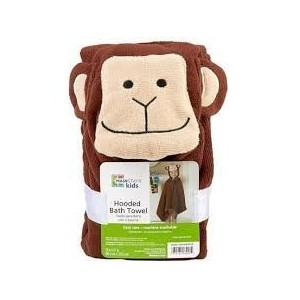Mainstays Monkey Hooded Towel by Mainstays