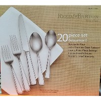 Reed & Barton 20 Piece 18 / 10ステンレススチールBeaumont Flatware