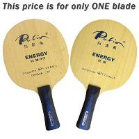Palio energy05 (エネルギー05、energy-05 ) 3木製+ 2carbon Table Tennisブレードfor Ping Pong Racket、ロング(...