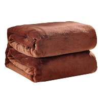 Zhhlaixing Lightweight 居心地の良い Warm Coral Ultra 柔らかい Flannel Blankets 5 Colors Sofa Bed Multi...