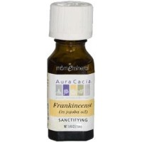 海外直送品Precious Essentials Oil, Frankncs Jojoba, 0.5 Oz by Aura Cacia