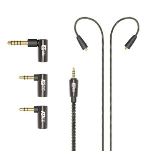 MEE Audio/Universal MMCX Balanced Audio Cable with adapter set【イヤホン】【ケーブル】【在庫あり】
