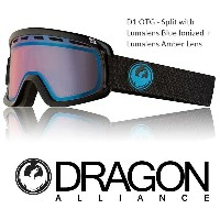 2018 DRAGON ドラゴン ゴーグル GOGGLE D1 OTG JAPAN-FIT SPLIT BLUE LUNALENS