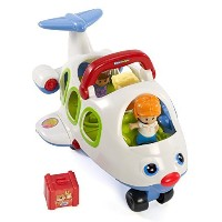 Fisher-Price Little People Lil' Movers Airplane [並行輸入品]