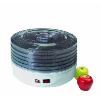 MaxiMatic EFD-1010 Elite Gourmet 5-Tray 135-Watt Rotating Food Dehydrator, White by Maximatic ...