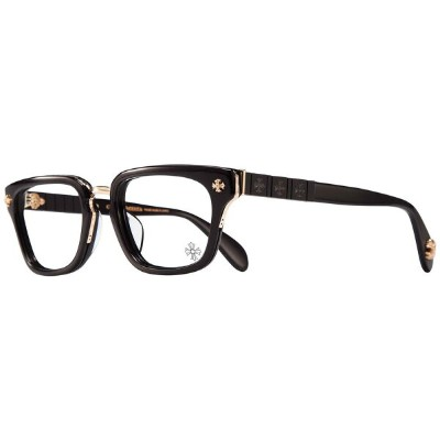 CHROME HEARTS SLHOREGASM BLACK GOLD PLATED 51-20-148 アイウェア 眼鏡