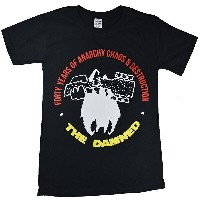THE DAMNED ダムド Forty Years Of Anarchy Tシャツ
