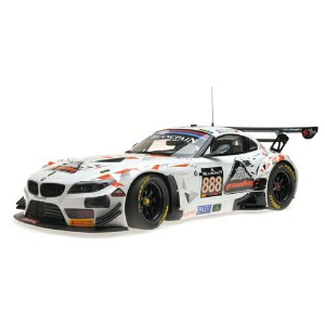 Minichamps ミニチャンプス 1:18 2015年 BMW Z4 GT3(E89) BMW - Z4 GT3 TEAM TRIPLE EIGHT RACING N 888 24h SPA...