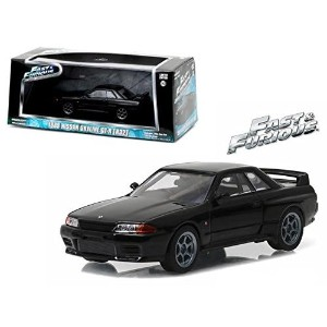 "GREENLIGHT 1:43SCALE ""THE FAST AND THE FURIOUS(FURIOUS 7)"" ""1989 NISSAN SKYLINE GT-R (R32)"" グリーンライト..."